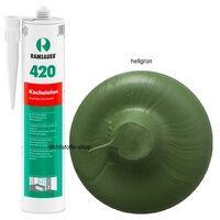 Ramsauer Gmbh & Co KG Ramsauer 420 Kachelofen hellgrün 1K Acryl Dichtstoff 310ml Kartusche