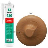 Ramsauer Gmbh & Co KG Ramsauer 420 Kachelofen zimt 1K Acryl Dichtstoff 310ml Kartusche