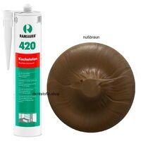 Ramsauer Gmbh & Co KG Ramsauer 420 Kachelofen nussbraun 1K Acryl Dichtstoff 310ml Kartusche