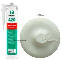 Ramsauer 420 Kachelofen lichtgrau 1K Acryl Dichtstoff 310ml Kartusche