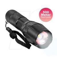 EAXUS 90790 - LED-Taschenlampe, 1000 lm, Zoom, 5 Modi, 3xAAA (Micro)