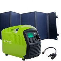 orium tragbares stromversorgungsgerä izywatt 1500+ faltbares solarpanel 120w sonnenenergie orium 39164