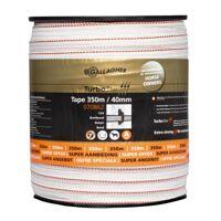 gallagher turbostar breitband 40mm weiß 350m gallagher 070862