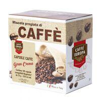 caffè europa gran crema, nespresso-kompatible kapseln, 100 stk - caffè e...