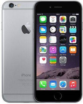 Apple Wie neu: iPhone 6   128 GB   spacegrau