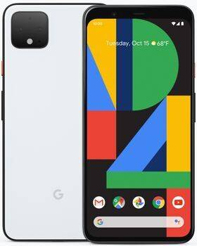 Google Pixel 4 XL   64 GB   clearly white