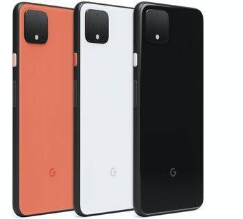 google Wie neu: Google Pixel 4 XL   64 GB   clearly white