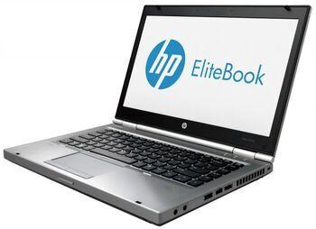 """HP Wie neu: HP EliteBook 8470p   i5-3340M   14""""   4 GB   512 GB SSD   Webcam   Win 10 Pro   DE"""