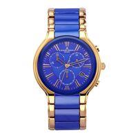 jacques lemans herren-chronograph jacques lemans blau