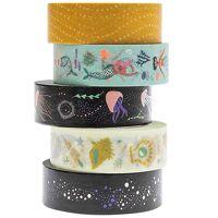 rico design washi-tape mermaids 5er-set