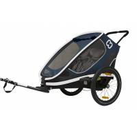 hamax fietskar outback one 20 zoll unisex navy