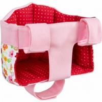 haba puppenfahrradsattel multifunktional 17 cm rosa