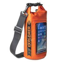 celly wasserdichte tasche mit handytasche 2 liter orange
