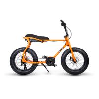 ruff cycles retro e fatbike bosch mittelmotor lil'buddy 300wh cx orange