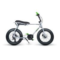 ruff cycles retro e fatbike bosch mittelmotor lil'buddy 300wh grau
