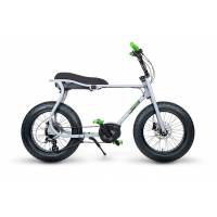 ruff cycles retro e fatbike bosch mittelmotor lil'buddy 500wh grau