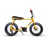 ruff cycles retro e fatbike bosch mittelmotor lil'buddy 500wh cx gelb