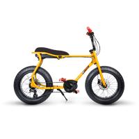 ruff cycles retro e fatbike bosch mittelmotor lil'buddy 300wh cx gelb