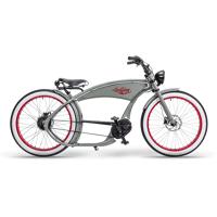 ruff cycles ruffian chopper e bike bosch mittelmotor 500wh grau