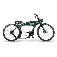ruff cycles ruffian chopper e bike bosch mittelmotor 500wh gruen