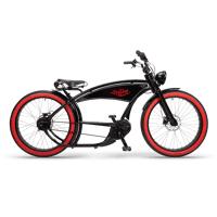 ruff cycles ruffian chopper e bike bosch mittelmotor 300wh schwarz