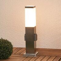 lindby energiesäule lorian mit beleuchtung