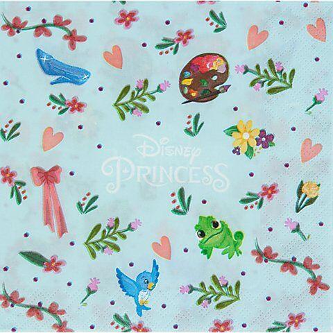 """Disney Serviette """"Princess"""", 33 x 33 cm, 20 Stück"""