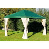 stabilezelte pavillon 3x4m grün polyester gartenpavillon sahara wasserdicht