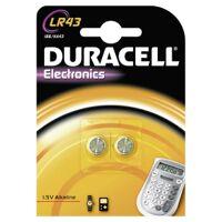 procter & gamble service gmbh duracell lr43 knopfzelle – 1,5 v, 186, ka43, 1 packung = 2 stück
