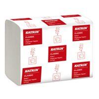 metsä tissue katrin classic easy 1 allzwecktuch, weiß, 2-lagiges recyclingpapier für unterschiedliche anwendungsbereiche, 1 karton = 42 packungen à 280 tücher