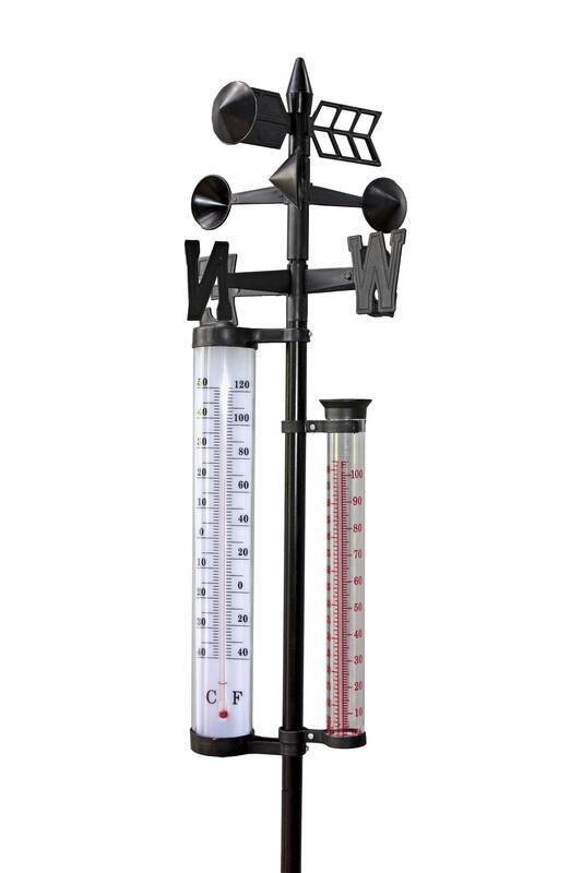 GartenMeister Wetterstation inkl. Thermometer