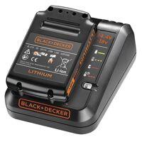 black & decker starterkit 18 volt: schnell-ladegerät + akku, 1,5 ah bdc1a15