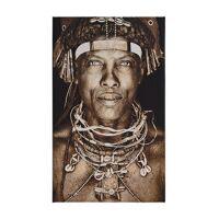 mario gerth, ovakakaona tribe, gobelin-wandbild, textiles fotoportät, 75x 125cm