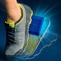 powerinsole active schuheinlage, sport und alltag, rückstandslos selbstklebend, für alle schuhe ab gr. 30
