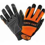 Hase Safety POWER GRIP schwarz/orange, 5-Finger-Handschuhe Neoprene, VE: 10 Paar