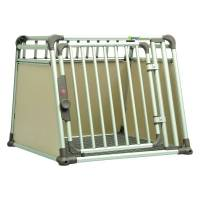 4pets transportbox comfortline four, m: h68,6 x t83,5 x b81,5 cm