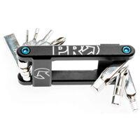 pro mini tool 8 alloy 8 funktionen - fahrradwerkzeug - schwarz