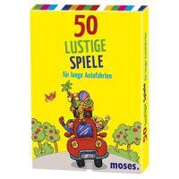 50 lustige spiele fÜr lange autofahrten kinder - gesellschaftsspiele - gelb