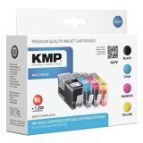 KMP Tintenpatronen-Set XXL ersetzt HP Nr. 920 XL »H67V«