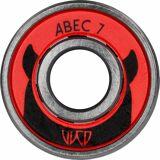 Wicked Kugellager »ABEC 7 Freespin«, rot-grau