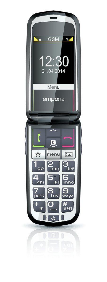 Emporia Handy »GLAM (schwarz)«, Schwarz
