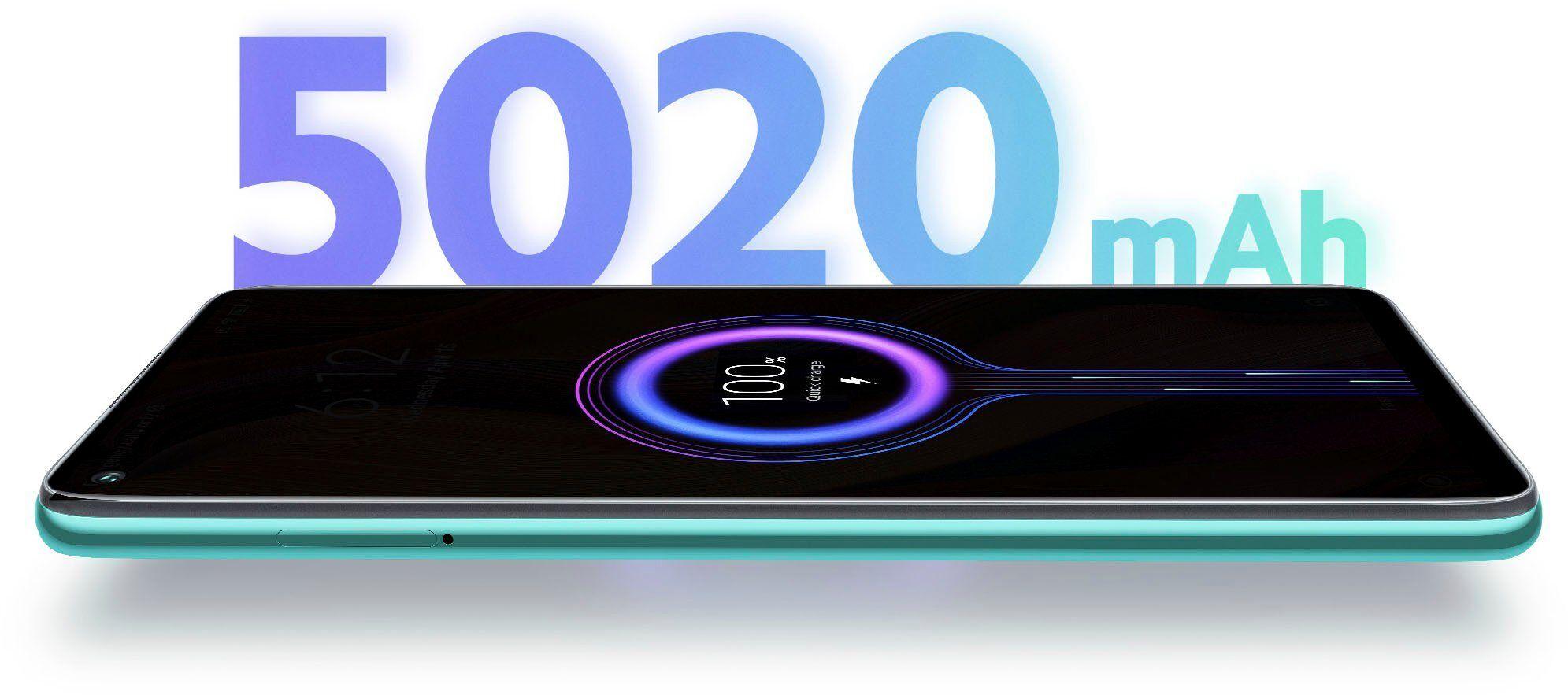 Xiaomi Redmi Note 9 Smartphone (16,6 cm/6,53 Zoll, 128 GB Speicherplatz, 48 MP Kamera), Forest Green