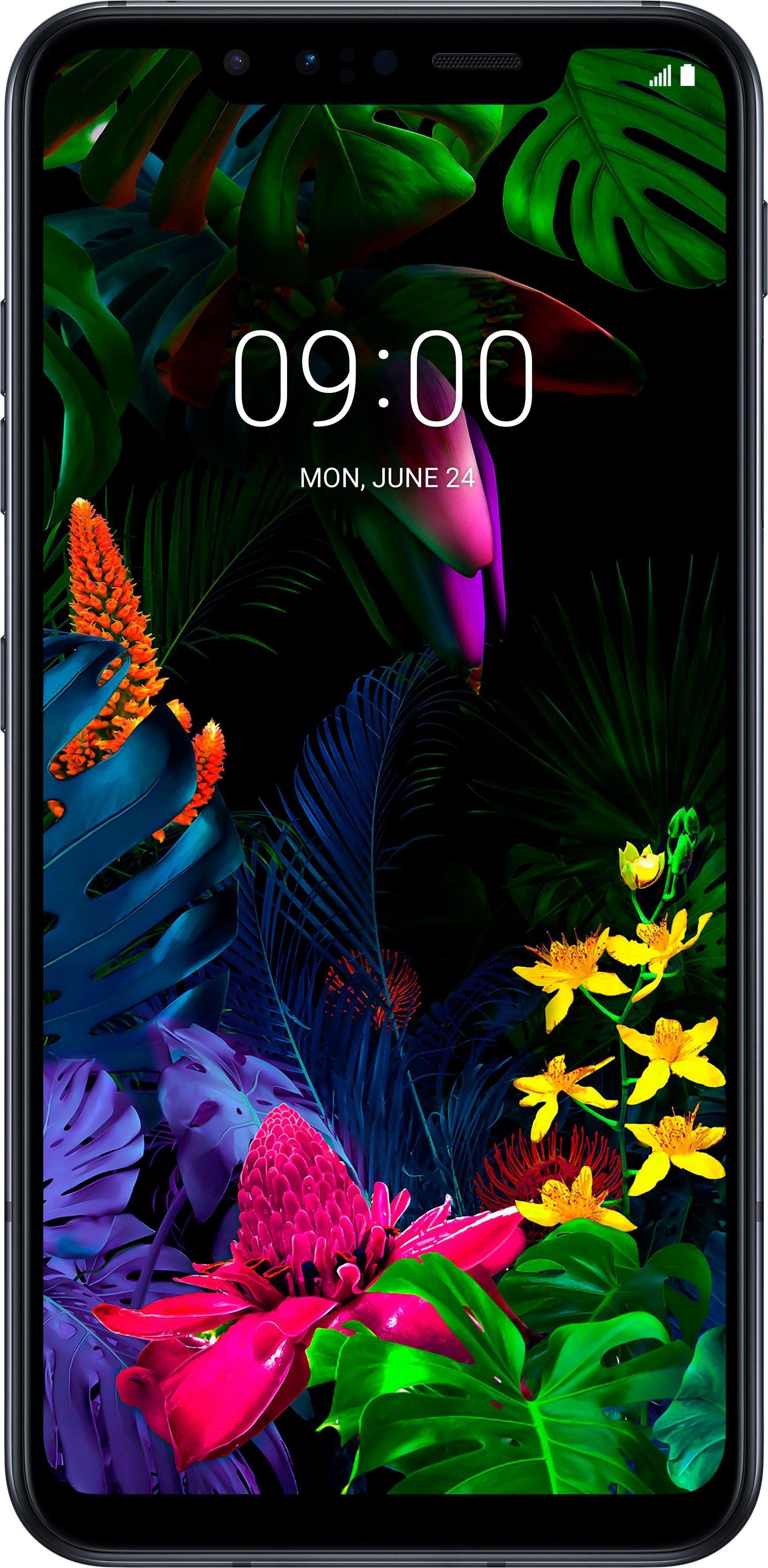 LG G8s ThinQ Smartphone (15,74 cm/6,2 Zoll, 128 GB Speicherplatz, 12 MP Kamera), mirror black