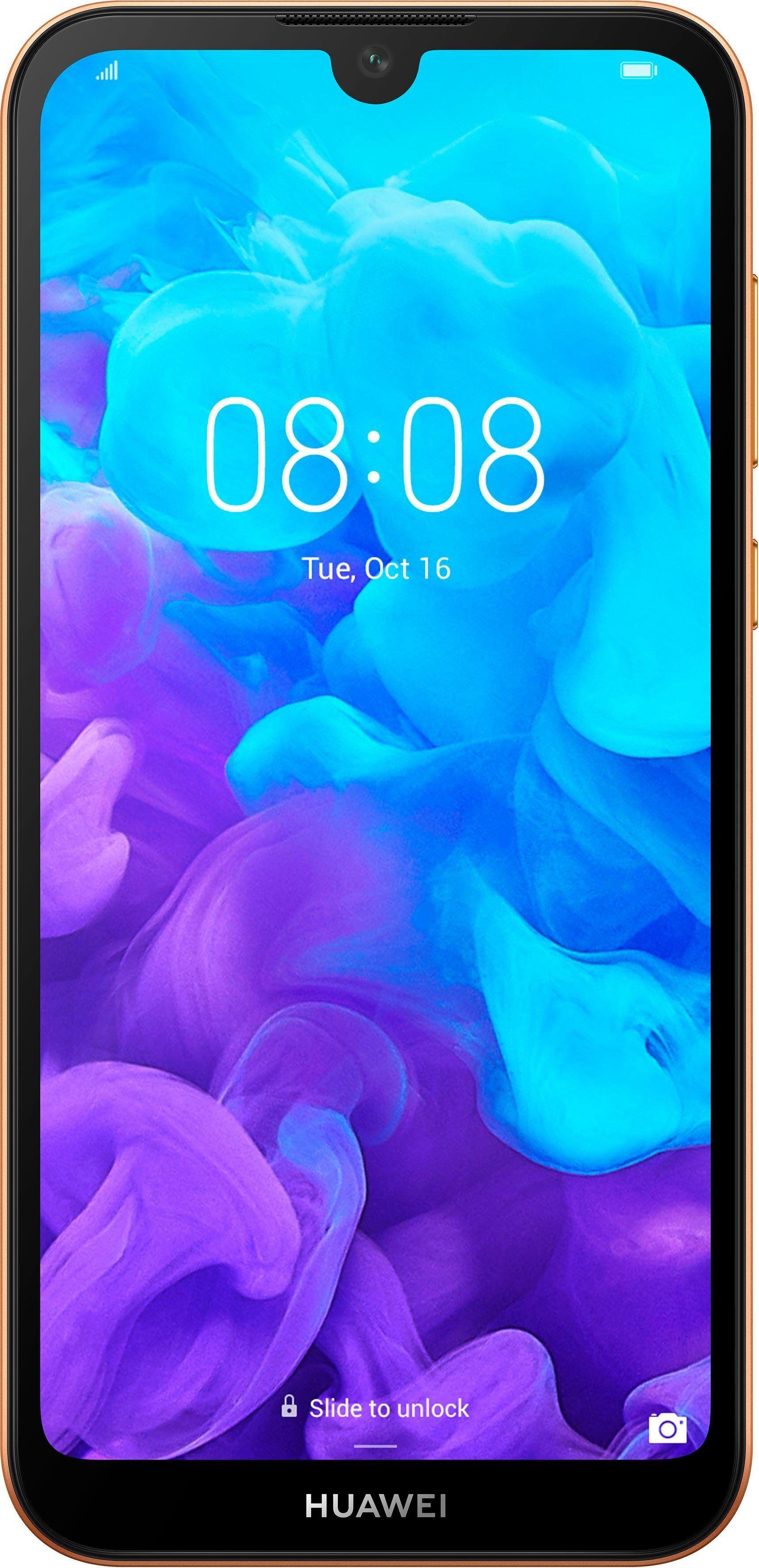 Huawei Y5 2019 Smartphone (14,5 cm/5,7 Zoll, 16 GB Speicherplatz, 13 MP Kamera), Amber Brown