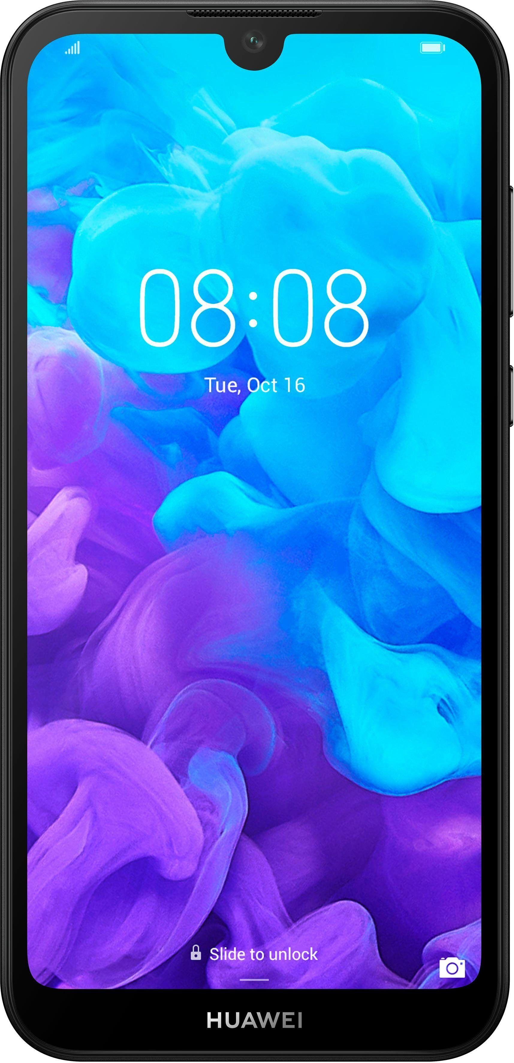 Huawei Y5 2019 Smartphone (14,5 cm/5,7 Zoll, 16 GB Speicherplatz, 13 MP Kamera), Midnight Black