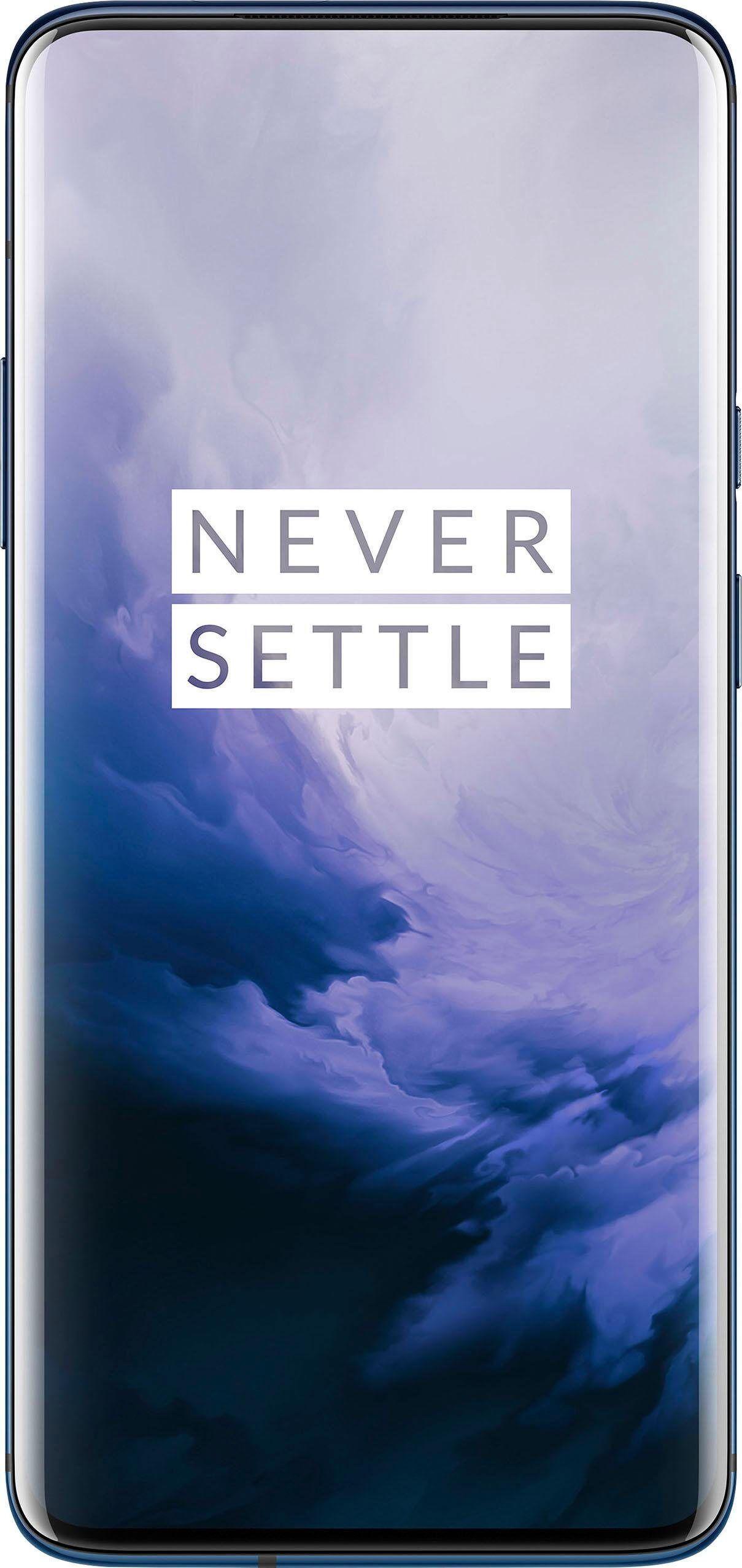 OnePlus 7 Pro 8GB+256GB Smartphone (16,9 cm/6,7 Zoll, 256 GB Speicherplatz, 48 MP Kamera), nebula blue
