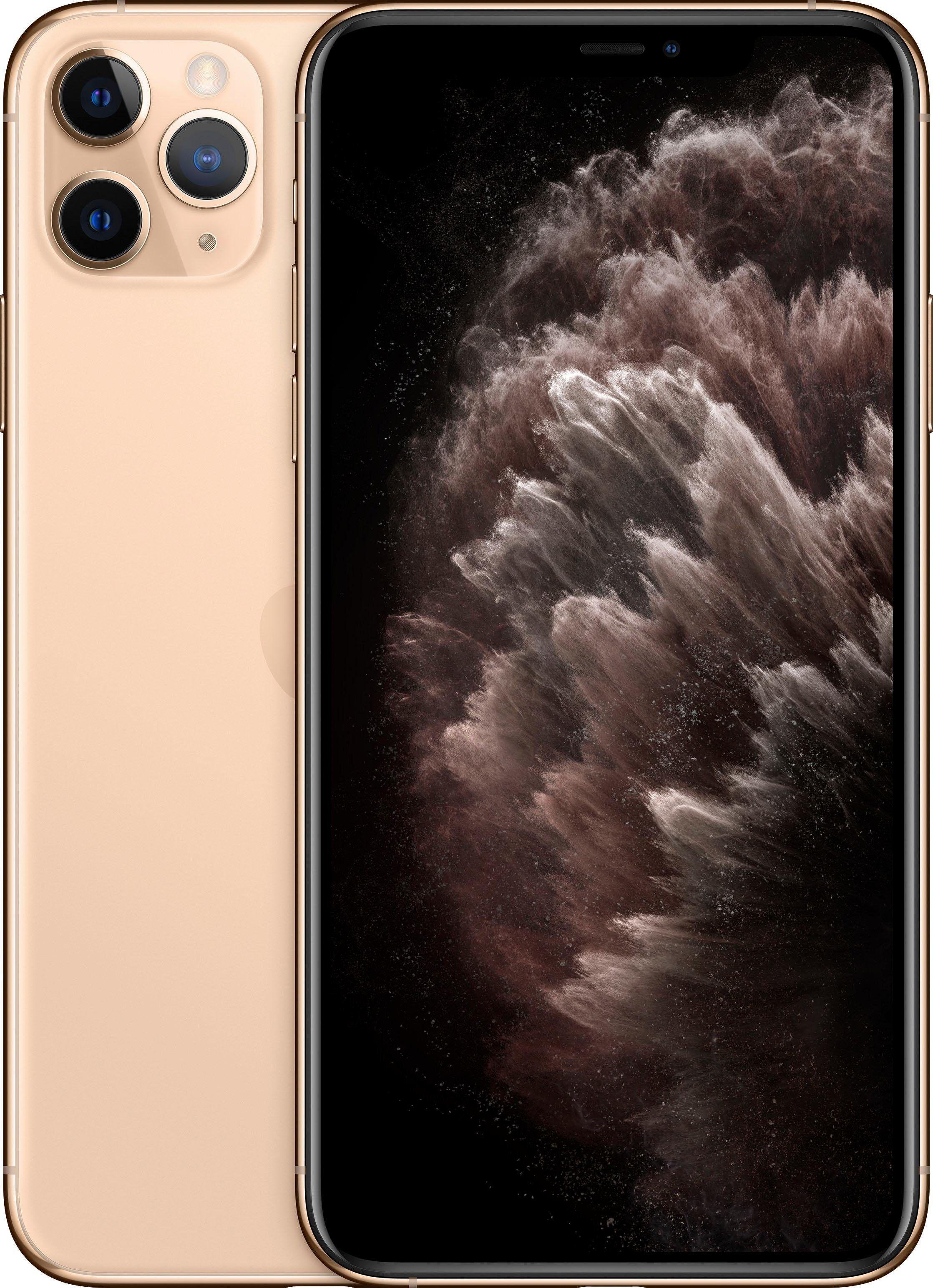 Apple iPhone 11 Pro Max Smartphone (16,5 cm/6,5 Zoll, 64 GB Speicherplatz, 12 MP Kamera), Gold