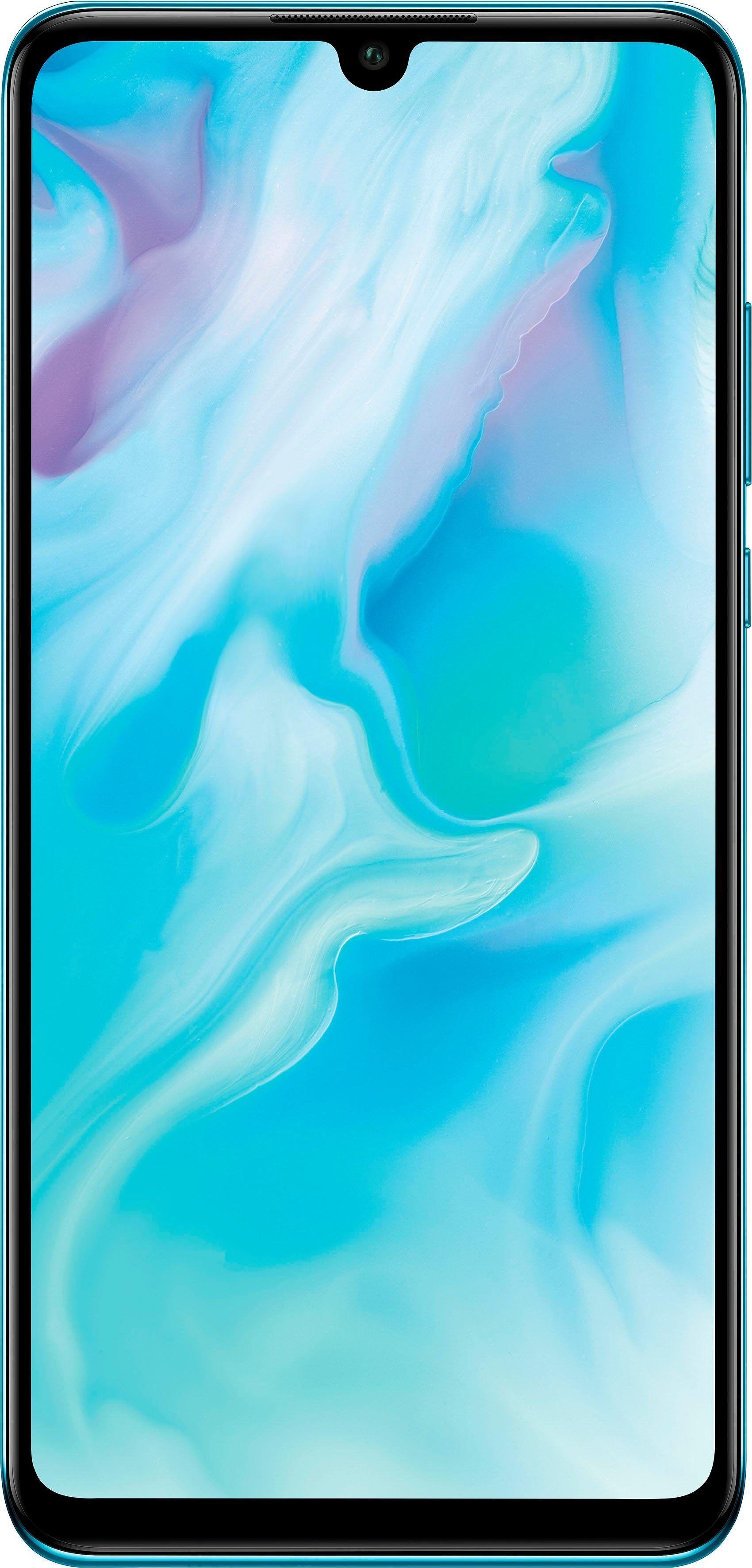 Huawei P30 lite Smartphone (15,62 cm/6,1 Zoll, 128 GB Speicherplatz, 48 MP Kamera), Breathing Crystal