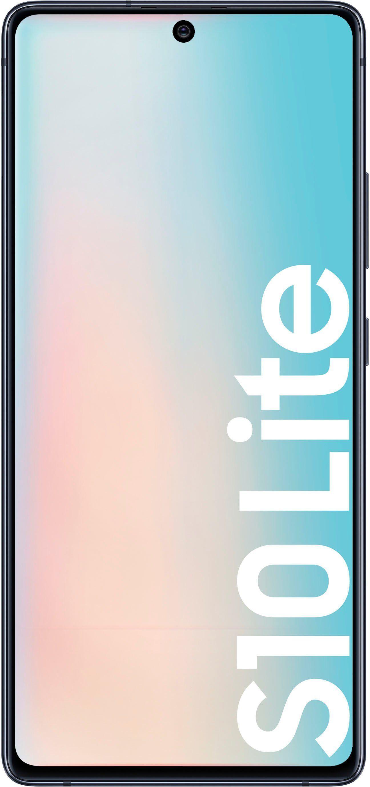 Samsung Galaxy S10 Lite Smartphone (16,95 cm/6,7 Zoll, 128 GB Speicherplatz, 48 MP Kamera), prism black