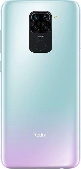 Xiaomi Redmi Note 9 Smartphone (16,6 cm/6,53 Zoll, 64 GB Speicherplatz, 48 MP Kamera), polar white